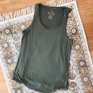 American Eagle outfitters sage tank